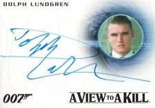 James Bond Archives 2015, Dolph Lundgren 'Venz' Autograph Card A271