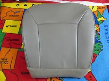 2003-08 FORD E- 250 350- Econoline Base Driver Bottom Vinyl Seat cover GRAY