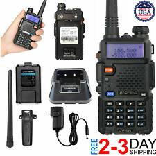 Digital Handheld Radio Scanner Fire Police VHF FM EMS Ham 2 Way Transceiver Dual