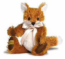 Merrythought Freddy Fox Classic Jointed Mohair - 23cm / 9 Inches - FFU9