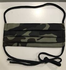 Adult Camo Face Cover Camouflage Army 2 Layer