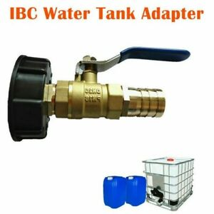 Fuel Tank Adapter  Brass Garden Faucet With 1 Hose Connector Oil Fuel Water
