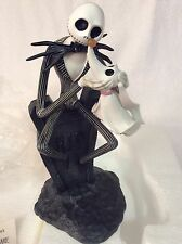 DISNEY PARKS NIGHTMARE BEFORE CHRISTMAS JACK & ZERO LIGHT UP FIGURINE FIGURE NIB
