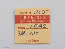 Longines Genuine Material Hour Wheel Part #255 Ht 1.30 for Longines Cal. 19AS