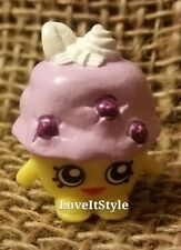 NEW Shopkins Season 1 yellow purple Mini Muffin 1-037 figure Bakery collection