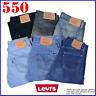 VINTAGE LEVIS 550 JEANS DENIM GRADE B MENS W30 W32 W34 W36 W38 W40 W40LEVI 550s