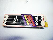 "Tyco HO Slot Car Command Control 1 Pair 0f 9"" Straight Track #6432 In Box HTF"