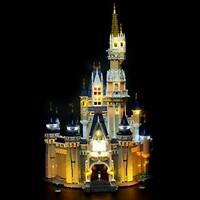 Briksmax Led Lighting Kit for Disney Castle - Compatible with Lego 71040...