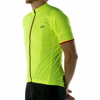 Bellwether Criterium Pro Men's Cycling Bicycle Jersey Hi/Vis SM