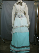 Victorian Dress Edwardian Costume Civil War Reenactment Old West Prairie