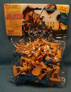 1994 BMC Toys Plastic Figures The Alamo 59 Pieces 54 MM #40000 Crockett Bowie