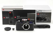 [Top Mint] Leica MP 0.72 Black Paint 35mm Rangefinder Camera 10302 JAPAN 6484