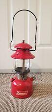 Vintage Coleman Lantern 200 Red 5/64