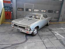 CHEVROLET Chevelle SS 396 silber 1966 silve Muscle Car V8 ERTL Autoworld SP 1:18