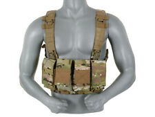 MULTI-MISSION 8 MAG CHEST RIG - MULTICAM [8FIELDS] MILITARY AMMO CARRIER AIRSOFT