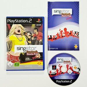 SONY PlayStation 2 Spiel SINGSTAR DEUTSCH ROCK-POP 2 dt. Prinzen/Pur/Rosenstolz