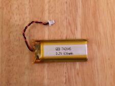 Batterie Lithium 742045 3.7 V 630 mAh pour XP DEUS détecteur de métaux.