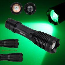5000LM 250 Yard Grün Rot Weiß Fokusierbare Jagdlampe Grünlicht Jagd Taschenlampe