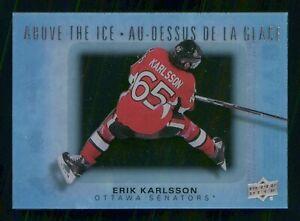 ERIK KARLSSON 2015-16 UD TIM HORTONS ABOVE THE ICE 15-16 NO AI-EK  30043