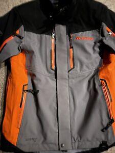 Klim Valdez Mens Snowmobile Parka Orange Size MD Medium 3570-007-130-400