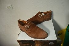 CHAUSSURE BOWEN CUIR DAIM TAILLE 7 / 41  SHOES SCHU/ZAPATO/SCARPA  LEATHER