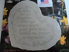 Kay Berry- Gone Yet Not Forgotten-08501 Memorial Stone NEW FREE SHIP