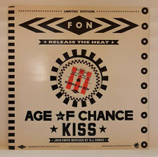"Age Of Chance - Kiss (Jack-Knife Remixes) / Fon Records - AGE L5 / 1986 12"" EP"