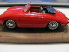 Brumm 1/43 Scale Metal Model - R117 PORSCHE 356 ROADSTER 1950 RED