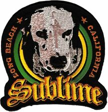 SUBLIME - LOU DOG LOGO - EMBROIDERED PATCH - BRAND NEW - MUSIC BAND 3004