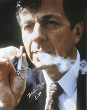 WILLIAM B. DAVIS signed THE X-FILES / SMOKING-MAN large 11x14 photo - PIC PROOF!