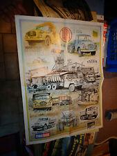 Poster Calendrier Ancien Camion  TATRA 1999 France Route EM PRAT