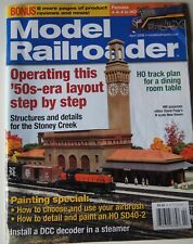 Model Railroader Magazine April 2006