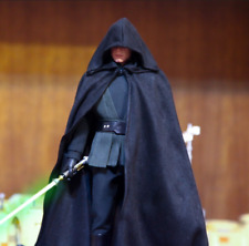 1/6 Scale Soldier Accessories Clothes Model Black Cape Cloak Robes F 12