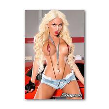 Z • 633 Tool Box Fridge Magnet Sexy Snap - On Girl Beautiful Woman Mini Bikini