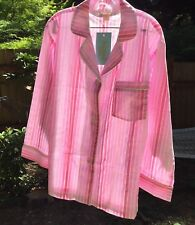 BED HEAD Women's S Classic Pajamas PINK NWT! 100% cotton USA made