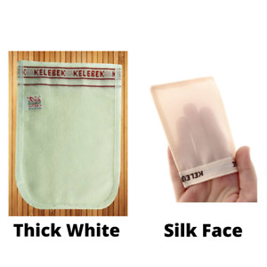 2XTurkish Hammam Bath Mitt Glove Peeling Kese Skin Loofah Exfoliating Body Scrub