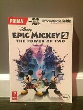 Disney Epic Mickey 2: The Power of Two: Prima Official Game Guide (Prima Offici