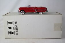 Franklin Mint 1954 Chevrolet Bel Air Convertible, Red, Excellent, Boxed