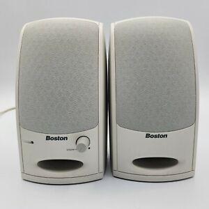 Boston Acoustics BA265 Computer Speakers No power supply