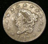 1817 Coronet Head Large Cent