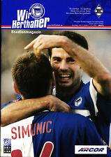 BL 2001/02 Hertha BSC - Borussia Mönchengladbach, 04.11.2001