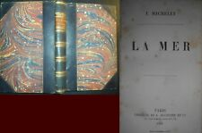 ‎La Mer MICHELET (J.) ‎ 1861 edition .originale