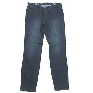 Madewell Skinny Skinny Ankle Jeans Dark wash Cotton Blend Stretch Women 29