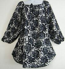 Lockre Sitzende 3/4 Arme Damenblusen,-Tops & -Shirts mit Polyester für Business