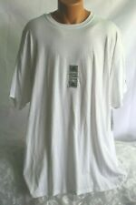 MEN - RUSSELL ATHLETIC (XXL) Tee Shirt White Durable Quality Stretch Knit Top