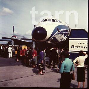 60 x 60 glass slide  aeroplane aircraft plane c1950s r15