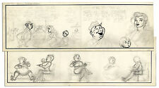 Unfinished ''Li'l Abner'' Original Comic Strip by Al Capp
