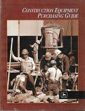 John Deere Construction Equipment 30 Brochures In 1 Guide C1998 E6532
