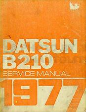 1977 Datsun B210 Original Repair Shop Manual 77 B 210