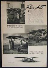 Plane-Mobile Whitaker-Zuck Flying Car 1946 vintage pictorial